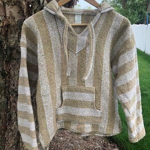 Jackets & Blazers - Baja Jacket (Beige and White Multicolor)